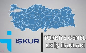 iskur evde ek is ilanlari